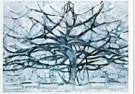 Piet Mondrian (1872-1944)  -  De grijze boom - Postcard -  QA020-1