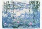 Claude Monet (1840-1926)  -  Nympheas - Postcard -  QA027-1