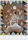 Paul Klee (1879-1940)  -  Uber Bergeshohen - Postcard -  QA036-1