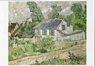 Vincent van Gogh (1853-1890)  -  van Gogh/ Houses at Auvers - Postcard -  QA086-1