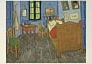 Vincent van Gogh (1853-1890)  -  van Gogh/Vincents Bedroom - Postcard -  QA091-1