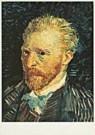 Vincent van Gogh (1853-1890)  -  van Gogh/Self-portrait - Postcard -  QA093-1