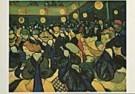 Vincent van Gogh (1853-1890)  -  van Gogh/Dance Hall - Postcard -  QA094-1