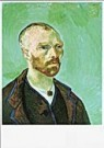 Vincent van Gogh (1853-1890)  -  van Gogh/Self-portrait-Paul G. - Postcard -  QA095-1
