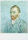 Vincent van Gogh (1853-1890)  -  van Gogh/Portrait de l'artiste - Postcard -  QA100-1