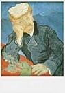 Vincent van Gogh (1853-1890)  -  van Gogh/Le docteur - Postcard -  QA101-1