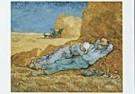 Vincent van Gogh (1853-1890)  -  van Gogh/La  meridienne - Postcard -  QA102-1