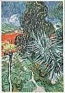 Vincent van Gogh (1853-1890)  -  van Gogh/Le jardin - Postcard -  QA104-1