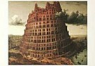 Pieter Bruegel the Elder  -  P.Bruegel de Oude/Babel/BvB - Postcard -  QA123-1