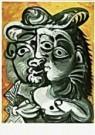 Pablo Picasso (1881-1973)  -  Picasso/Couple/BvB/BR - Postcard -  QA126-1