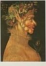 Giuseppe Arcimboldo 1527-1593  -  Arcimbaldo/The Summer/KMW - Postcard -  QA131-1