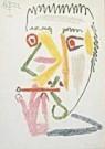 Pablo Picasso (1881-1973)  -  Picasso/Roker/BR/BvB - Postcard -  QA134-1