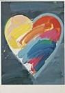 Paul Giovanopoulos (1939)  -  Heart A - Postcard -  QA145-1