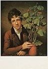 Rembrandt Peale (1778-1860)  -  R.Peale/R.Peale+geranium/NGW - Postcard -  QA197-1