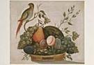 A.M. Randall 18th century  -  A.M.Randall/Basket fruit/NGW - Postcard -  QA206-1