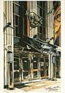 Ronald Kleemann (1937-2014)  -  Kleemann/Hard Rock Cafe/LKM - Postcard -  QA217-1