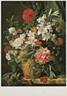 Jan van Huysum (1682-1749)  -  J.van Huysum/BloemstillevenAHM - Postcard -  QA221-1