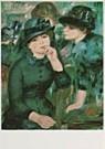 Pierre-Auguste Renoir (1841-19 -  P.A.Renoir/Girls in black/PMM - Postcard -  QA224-1