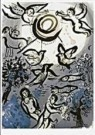 Marc Chagall (1887-1985)  -  M.Chagall/Creation/JHM/BR - Postcard -  QA232-1