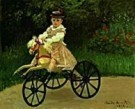 Claude Monet (1840-1926)  -  C.Monet/J. Monet on his Hobby - Postcard -  QA267-1