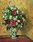 Camille Pissarro (1830-1903)  -  C.Pissarro/Vase of Flowers - Postcard -  QA269-1