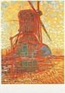 Piet Mondrian (1872-1944)  -  Molen bij zonlicht - Postcard -  QA313-1