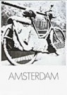 Paul Huf (1924-2002)  -  Huf/ Bike in snow - Postcard -  QB037-1