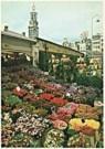 Martin Kers (1944)  -  Bloemenmarkt - Postcard -  QC044-1
