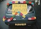 Ronald Hammega (1948)  -  Hoera Samenwon. - Postcard -  QC109-1