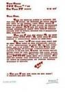 Giora Katri  -  A love letter. - Postcard -  QC147-1