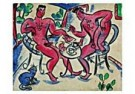 Eddy Varekamp (1949)  -  Heren aan de thee. - Postcard -  QC280-1