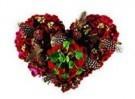 Mirja de Vries  -  Flowerhearts No.5 - Postcard -  QC366-1