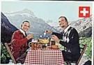 Arthur Mebius  -  Fondue - Postcard -  QC436-1