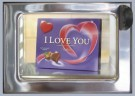 Rolf Unger  -  The I Love You automatiek a typical Dutch vending - Postcard -  QC483-1