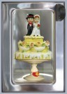 Rolf Unger  -  The Wedding Cake automatiek a typical Dutch vendin - Postcard -  QC484-1