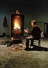 Teun Hocks (1947)  -  Untitled - Postcard -  QF023-1