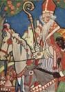 Rie Cramer (1887-1977)  -  Sinterklaas, ca.1935 - Postcard -  QSINT010-1