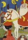 Dick Vendé  -  Sinterklaas, ca.1950 - Postcard -  QSINT017-1