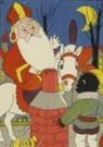 Dick Vendé  -  Sinterklaas, ca.1950 - Postcard -  QSINT018-1
