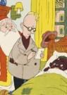 Dick Vendé  -  Sinterklaas, ca.1950 - Postcard -  QSINT020-1
