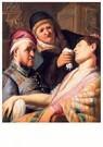 Rembrandt Van Rijn (1606/7-'69 -  De flauwgevallen patiënt (De reuk) - Postcard -  REM001-1