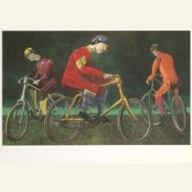 Blikken fietsers