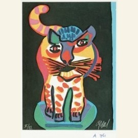 Tigre uit de serie 'Appel's circus', 1978