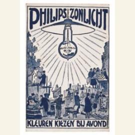 Philips zonlicht, kleuren kiezen bij avond, z.d.