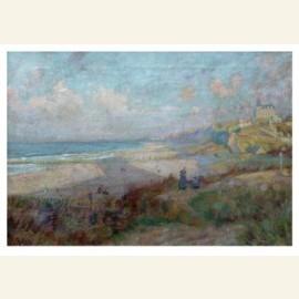Langs de zee, einde namiddag, ca. 191516