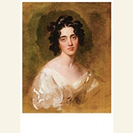 Portait Of Lady Georgina North (Died 1835), Unfinished