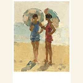 Vrouwen Op Het Strand, Viareggio