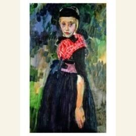 Staphorster meisje, ca. 1915