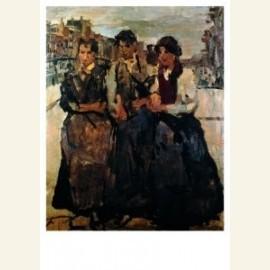 Drie meiden in Amste