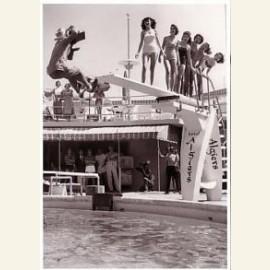 Fotograaf valt van duikplank